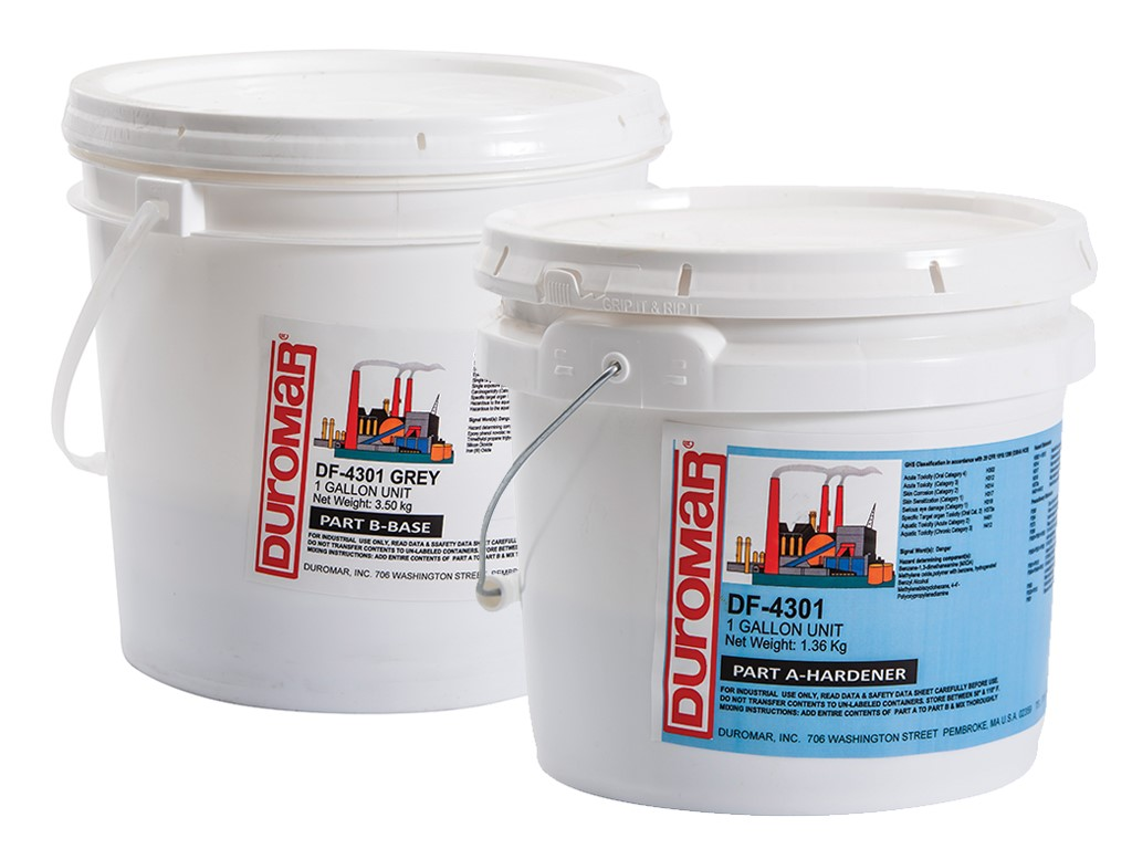 DF-4301 Novolac Floor Coating (Grey)(1 Gallon)